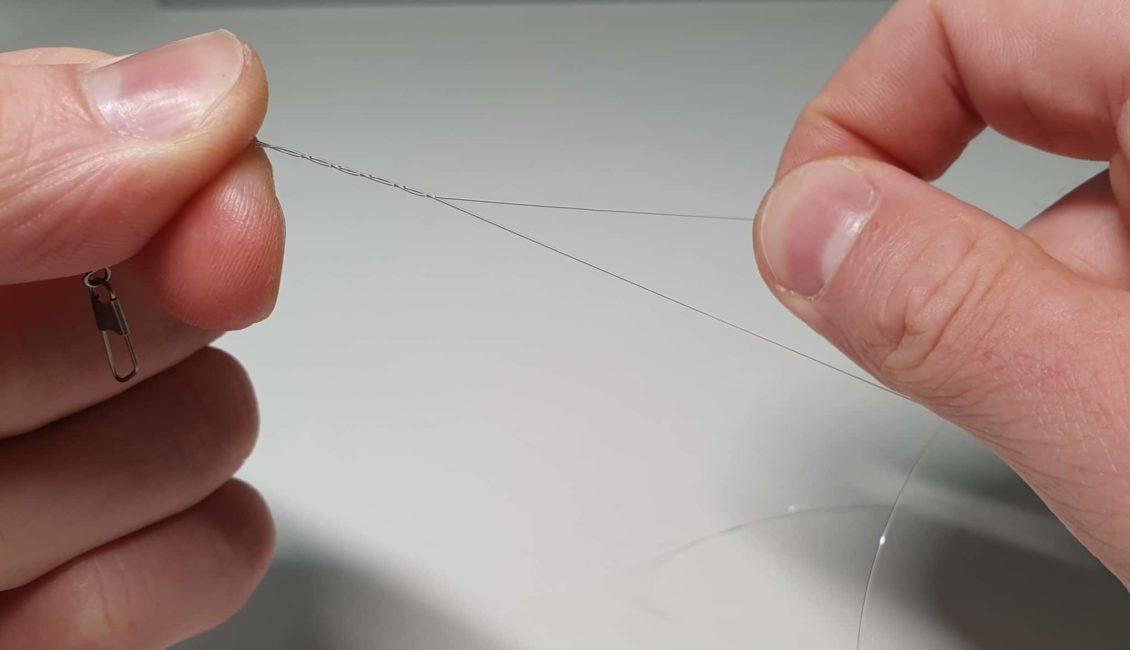 Einfacher Clinchknoten - Schritt 4