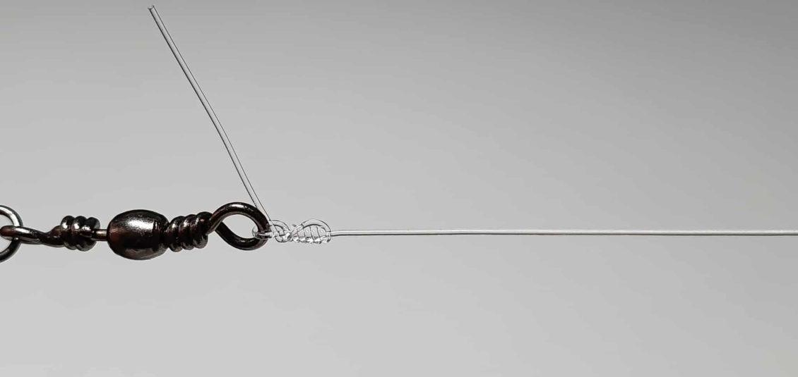 Einfacher Clinchknoten - Schritt 7