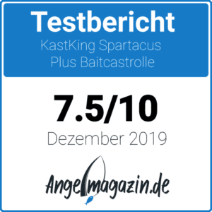 Kastking Spartacus Plus Testsiegel