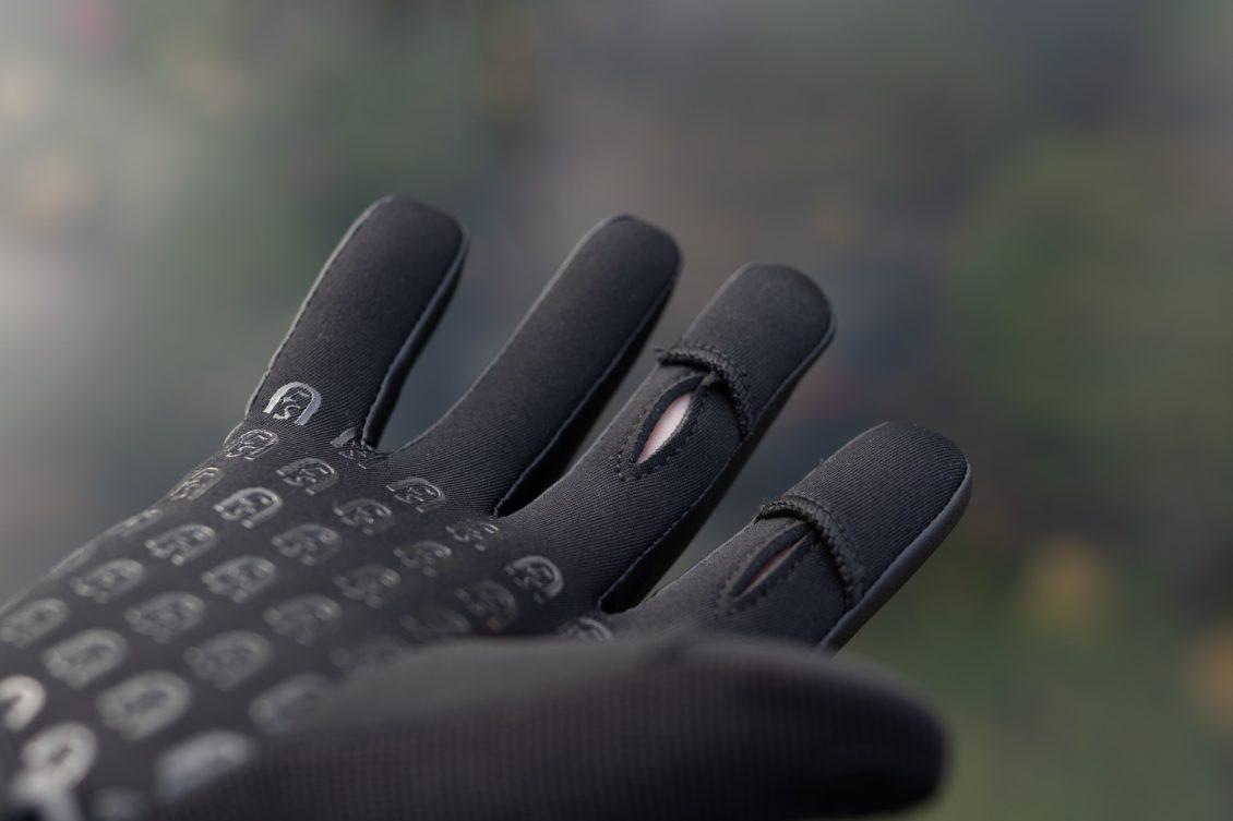 Angelhandschuhe Test - Geschlitzte Finger