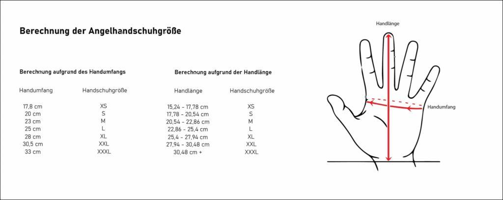 Angelhandschuhe - Richtige Größe finden