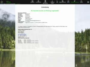 Angelschein machen: Anmeldung zur Prüfung auf Fishing-King