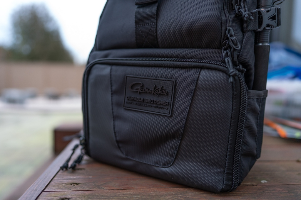 Gamakatsu Back Pack Angelrucksack - Sehr gute Verarbeitung