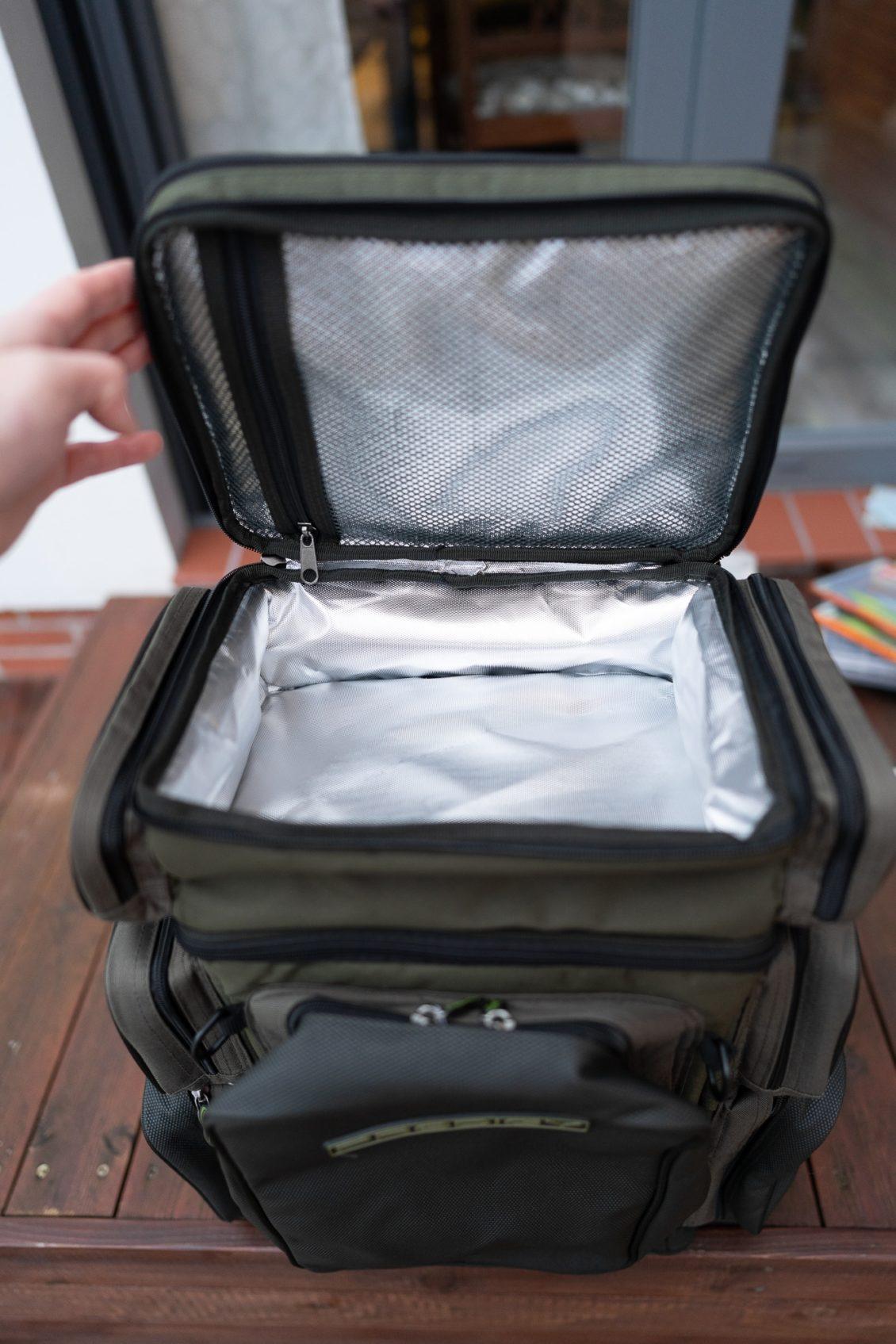 Greys Prodigy Tackle Base Angelrucksack - Kühlfach