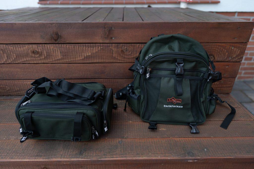 Iron Claw Backpacker Angelrucksack - Abnehmbare Tasche