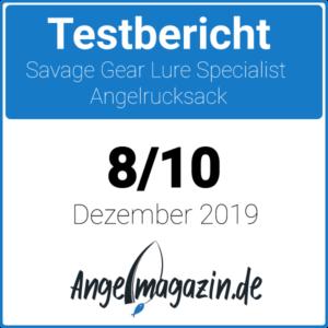 Savage Gear Lure Specialist Angelrucksack Testsiegel