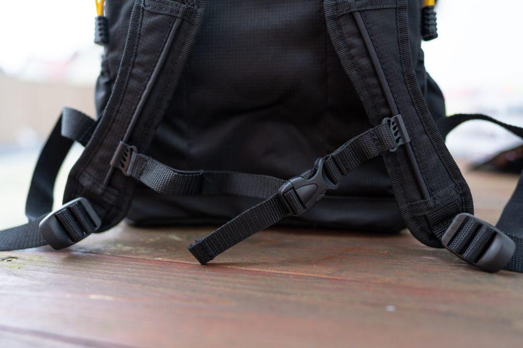Spro Back Pack Angelrucksack - Brustgurt zur besseren Gewichtsverteilung