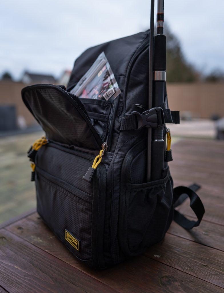 Spro Back Pack Angelrucksack - Seitenansicht