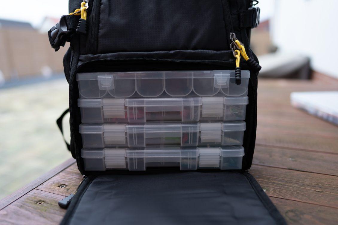 Spro Back Pack Angelrucksack - Platz für 4 Tackleboxen