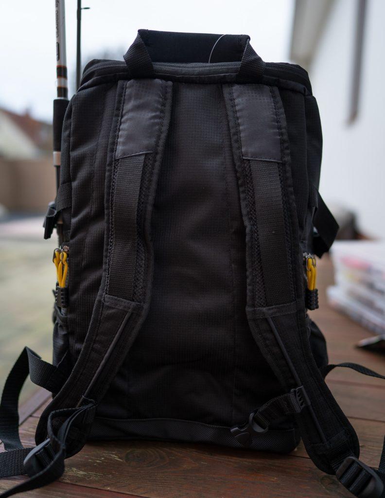 Spro Back Pack Angelrucksack - Kaum Polsterung an Rücken und Schultern