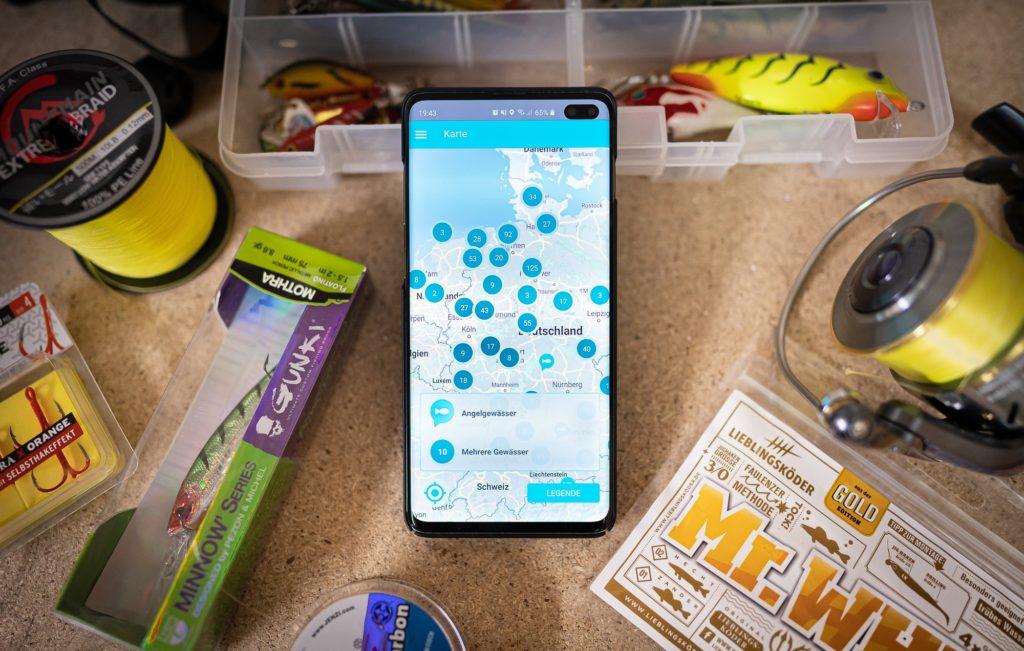 Angelkarte in der Hejfish App kaufen