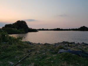 Angelschein Bremen - Angeln an der Weser beim Dreyer Hafen