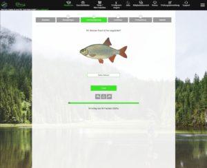 Fishing-King Fischbestimmung
