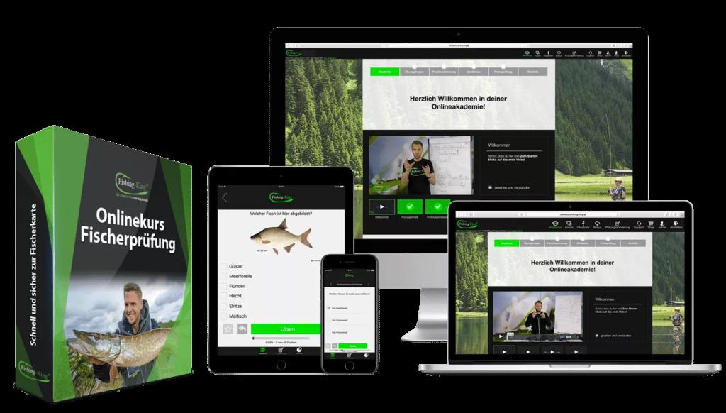 Angelschein Schleswig-Holstein mit Fishing-King online machen