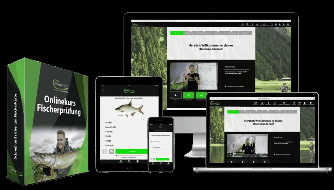 Angelschein Thüringen mit Fishing-King online machen