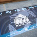 Major Fish XL Maßband - Logo