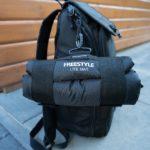Spro Freestyle Lite Mat - Befestigung am Rucksack #2