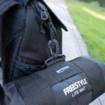Spro Freestyle Lite Mat - Befestigung am Rucksack