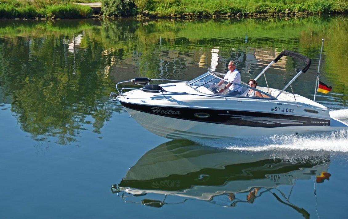 Boot mit mehr als 15 PS auf der Mosel - SBF Binnen ist notwendig