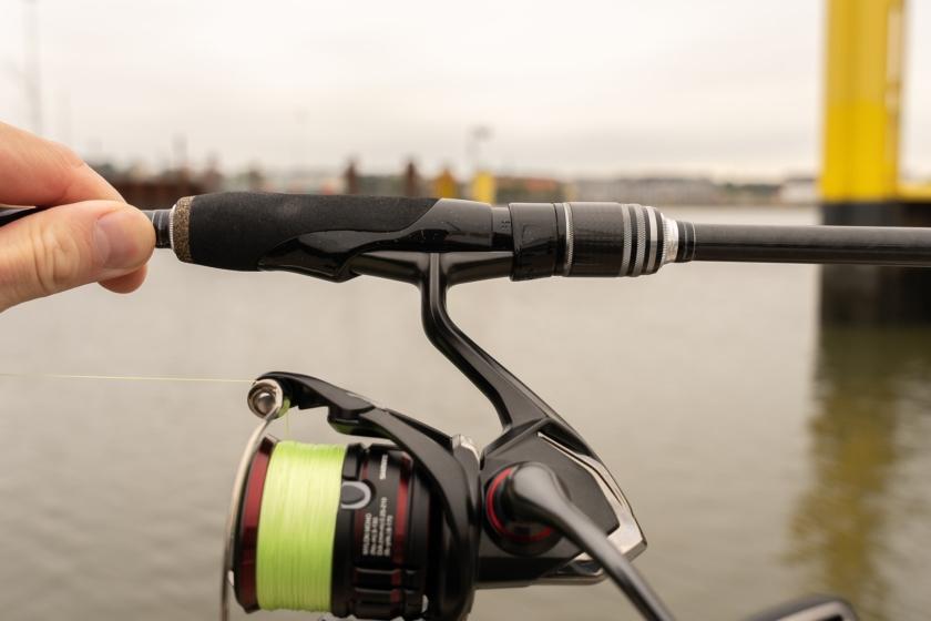 Bullseye Jig Whip mit der Shimano Vanford C3000