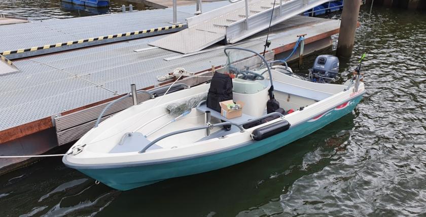 Motorboote mit 15PS sind führerscheinfrei