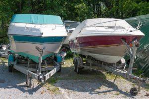 Bootsversicherung: Schäden am Standplatz sind abgedeckt